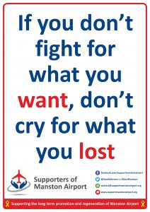 A4 If you don't fight Poster