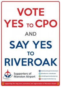 Vote yes to cpo say yes to Riveroak
