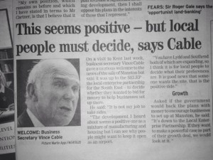 Vince Cable article